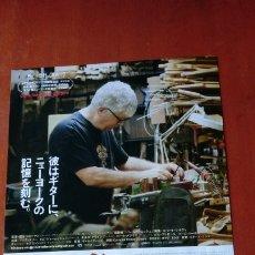 Cine: GUÍA PROGRAMA JAPONÉS DOCUMENTAL CARMINE STREET GUITARS. RICK KELLY.. Lote 178815055