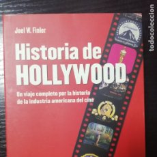 Cine: HISTORIA DE HOLLYWOOD POR JOEL W.FINLER. UN VIAJE COMPLETO POR LA INDUSTRIA AMERICANA DEL CINE.. Lote 179216978