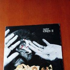 Cine: PROGRAMA ORIGINAL GUÍA LUJO JAPONESA LA MALDICIÓN DE DAMIEN (LA PROFECÍA 2). OMEN 2. WILLIAM HOLDEN,. Lote 179325150
