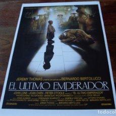 Cine: EL ULTIMO EMPERADOR - JOHN LONE, JOAN CHEN, PETER O'TOOLE - GUIA ORIGINAL IBEROAMERICANA AÑO 1987. Lote 179332051