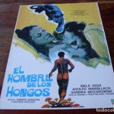 Cine: EL HOMBRE DE LOS HONGOS - ADOLFO MARSILLACH, ISELA VEGA - GUIA ORIGINAL PELIMEX AÑO 1976. Lote 179333152