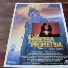 Cine: LA PRINCESA PROMETIDA - CARY ELWES, ROBIN WRIGHT, BILLY CRYSTAL - GUIA ORIGINAL TRI FILMS AÑO 1987. Lote 179333258