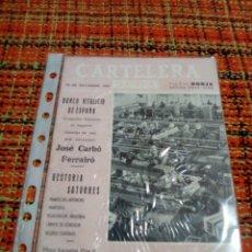 Cine: GANDIA CARTELERA 18 NOVIEMBRE 1961. Lote 179341106