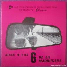 Cine: GUIA PUBLICITARIA, CINE, ADAN A LAS 6 DE LA MADRUGADA, MICHAEL DOUGLAS, LEE PURCELL, G415. Lote 179515275