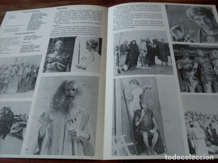 Cine: la vida de brian - eric idle, john cleese, michael palin, terry jones - guia original c.i.c año 1979 - Foto 2 - 179548076