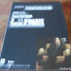 Cine: EL PADRINO 2 - AL PACINO, DIANE KEATON, ROBERT DE NIRO, ROBERT DUVALL - GUIA ORIGINAL C.I.C AÑO 1974. Lote 179548298