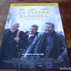 Cine: LA ULTIMA BANDERA - STEVE CARELL,BRYAN CRANSTON, LAURENCE FISHBURNE - GUIA ORIGINAL VERTIGO AÑO 2017. Lote 179548772