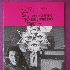 Cine: GUIA PUBLICITARIA, CINE, LAS FLORES DEL MIEDO, PATRICIA WRIGHT, JULIO PEÑA, G428. Lote 179963125