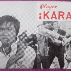 Cine: GUIA PUBLICITARIA, CINE, ¡KARATE!, LEI CHENG RUN, G430. Lote 179963302