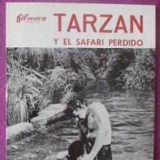 Cine: GUIA PUBLICITARIA, CINE, TARZAN Y EL SAFARI PERDIDO, GORDON SCOTT, ROBERT BEATTY, G432. Lote 179963460