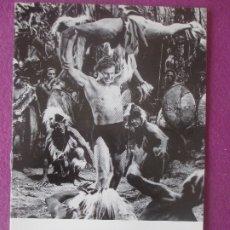 Cine: GUIA PUBLICITARIA, CINE, TARZAN EN PELIGRO, LEX BARKER, VIRGINIA HUSTON, G433. Lote 179963768