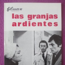 Cine: GUIA PUBLICITARIA, CINE, LAS GRANJAS ARDIENTES, ALAIN DELON, SIMONE SIGNORET, G434. Lote 179963828