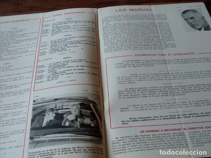 Cine: a quemarropa - lee marvin, angie dickinson - dir. john boorman - guia original mgm año 1968 - Foto 4 - 180035138
