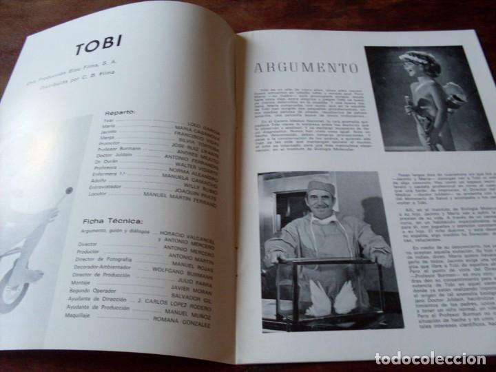 Cine: tobi - lolo garcia, maria casanova, antonio ferrandis - guia original cb films año 1978 - Foto 2 - 180193513