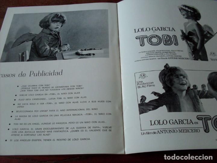 Cine: tobi - lolo garcia, maria casanova, antonio ferrandis - guia original cb films año 1978 - Foto 4 - 180193513