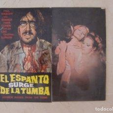 Cine: GUIA DE CINE ORIGINAL INTERNACIONAL / EL ESPANTO SURGE DE LA TUMBA / PAUL NASCHY. Lote 180268983