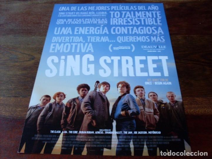 SING STREET - FERDIA WALSH-PEELO, KELLY THORNTON - DIR.JOHN CARNEY - GUIA ORIGINAL VERTIGO AÑO 2016 (Cine - Guías Publicitarias de Películas )
