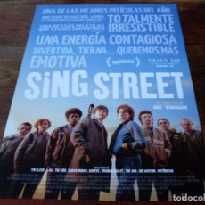 Cine: SING STREET - FERDIA WALSH-PEELO, KELLY THORNTON - DIR.JOHN CARNEY - GUIA ORIGINAL VERTIGO AÑO 2016. Lote 180273798