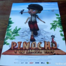Cine: PINICHO Y SU AMIGA COCO - MARIO ADORF, MORITZ RUSS - GUIA ORIGINAL FLINS & PINICULAS AÑO 2013. Lote 180274895