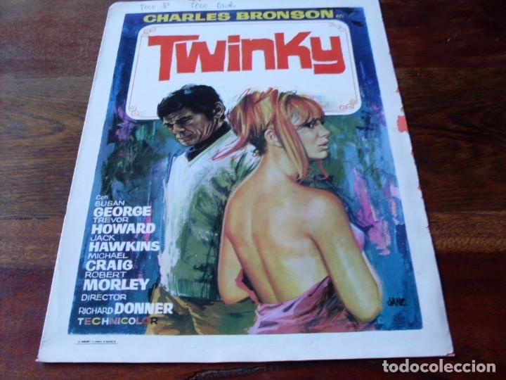TWINKY - CHARLES BRONSON, SUSAN GEORGE, RICHARD DONNER - GUIA ORIGINAL AÑO 1970 JANO (Cine - Guías Publicitarias de Películas )