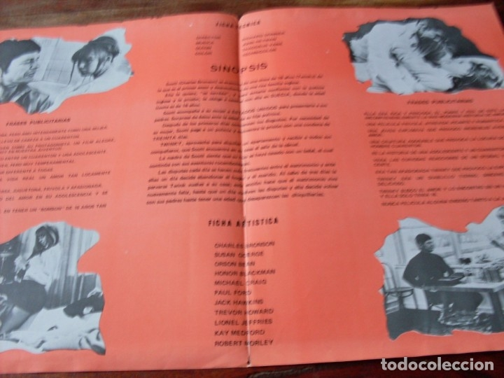 Cine: twinky - charles bronson, susan george, richard donner - guia original año 1970 jano - Foto 2 - 180505527