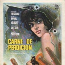 Cine: CARNE DE PERDICION. Lote 180910975