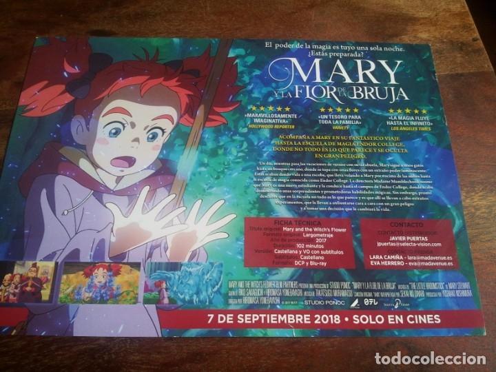 Cine: mary y la flor de la bruja - animacion - guia original selecta vision año 2018 - Foto 2 - 181952310