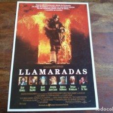 Cine: LLAMARADAS - KURT RUSSELL, ROBERT DE NIRO, REBECCA DEMORNAY - GUIA ORIGINAL U.I.P AÑO 1991. Lote 194261413