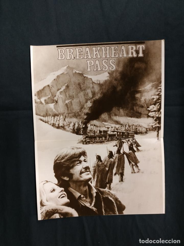 EMBOSCADA EN BREAKHEART PASS - CHARLES BRONSON - BEN JOHNSON - JILL IRELAND (Cine - Guías Publicitarias de Películas )