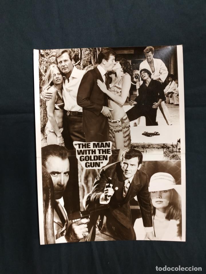 EL HOMBRE DE LA PISTOLA DE ORO - ROOGER MOORE - CHRISTOPHER LEE - BRITT EKLAND - (Cine - Guías Publicitarias de Películas )