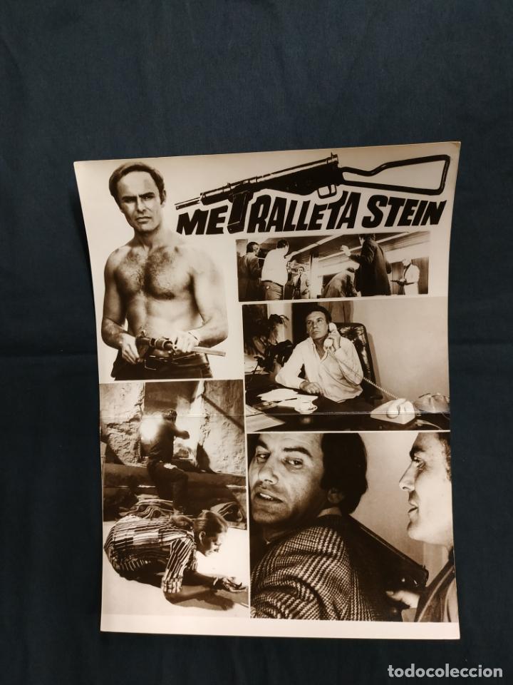 METRALLETA STEIN - JOHN SAXON - FRANCISCO RABAL - BLANCA ESTRADA - (Cine - Guías Publicitarias de Películas )