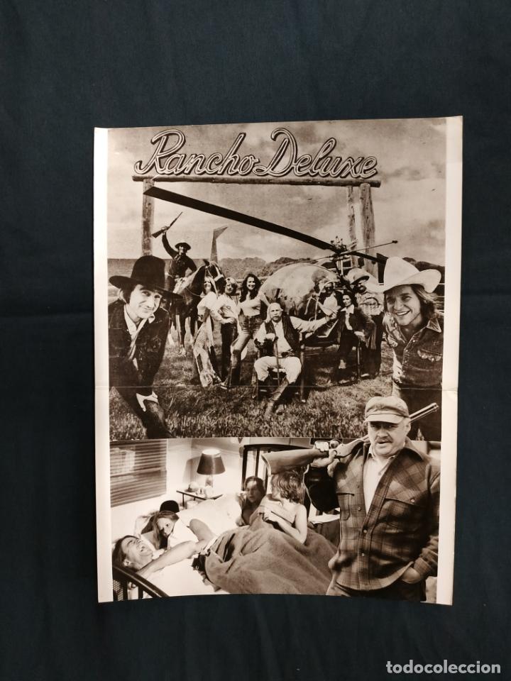 EL CAMINO FACIL - JEFF BRIDGES - ELIZABETH ASHLEY - CLIFTON JAMES (Cine - Guías Publicitarias de Películas )