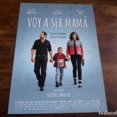 Cine: VOY A SER MAMA - VALERIE LEMERCIER, GILLES LELLOUCHE, MARINA FOIS - GUIA ORIGINAL VERTIGO AÑO 2013. Lote 183020108