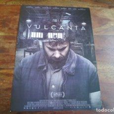 Cine: VULCANIA - AURA GARRIDO, PEPE SACRISTAN, MIGUEL FERNANDEZ, ANA WAGENER - GUIA ORIGINAL ALFA AÑO 2015. Lote 183021492
