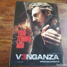 Cine: V3NGANZA VENGANZA 3 - LIAM NEESON, FAMKE JANSSEN, MAGGIE GRACE, - GUIA ORIGINAL FOX AÑO 2015. Lote 183021857