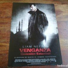 Cine: VENGANZA CONEXION ESTAMBUL - LIAM NEESON, MAGGIE GRACE, FAMKE JANSSEN - GUIA ORIGINAL FOX AÑO 2012. Lote 183022733