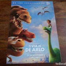 Cine: EL VIAJE DE ARLO - ANIMACION - DIR. PETER SOHN - PIXAR - GUIA ORIGINAL DISNEY AÑO 2015. Lote 183023616