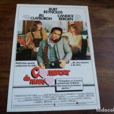 Cine: COMENZAR DE NUEVO - BURT REYNOLDS, JILL CLAYBURGH, CANDICE BERGEN - GUIA ORIGINAL C.I.C AÑO 1979. Lote 183203857
