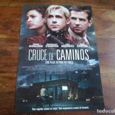 Cine: CRUCE DE CAMINOS - RYAN GOSLING, BRADLEY COOPER, EVA MENDES - GUIA ORIGINAL TRIPICTURES AÑO 2012. Lote 183204831