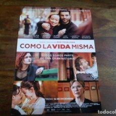 Cine: COMO LA VIDA MISMA - OSCAR ISAAC, OLIVIA WILDE, ANNETTE BENING - GUIA ORIGINAL ALFA AÑO 2018. Lote 183205118