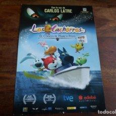 Cine: LOS CACHORROS Y EL CODIGO DE MARCO POLO - ANIMACION - GUIA ORIGINAL ALFA AÑO 2010. Lote 183205426