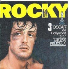 Cine: G8965 ROCKY SYLVESTER STALLONE BOXEO GUIA ORIGINAL CB FILMS ESTRENO. Lote 183416831