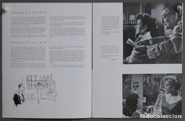 Cine: G8967 COMICOS GUIA ORIGINAL CEA ESTRENO CANNES JUAN ANTONIO BARDEM FERNANDO REY - Foto 3 - 183418822