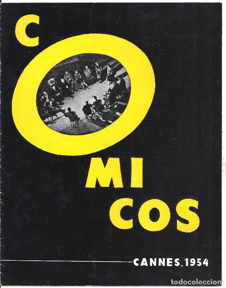 G8967 COMICOS GUIA ORIGINAL CEA ESTRENO CANNES JUAN ANTONIO BARDEM FERNANDO REY (Cine - Guías Publicitarias de Películas )