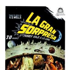 Cine: LA GRAN SORPRESA 1964 (GUÍA ORIGINAL DOBLE CON FOTOS DE SU ESTRENO EN ESPAÑA) ÚNICA EN TODOCOLECCION. Lote 183837980