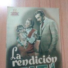 Cinema: K-GUIA DE LA PELICULA - LA RENDICIÓN DE TITÍ. Lote 184368877