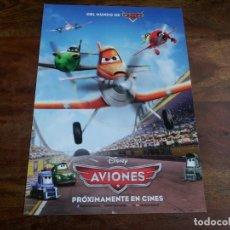 Cine: AVIONES - ANIMACION - DIR. KLAY HALL - GUIA ORIGINAL DISNEY AÑO 2013. Lote 184479596