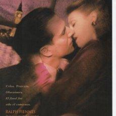 Cine: EL FIN DEL ROMANCE. Lote 186127152