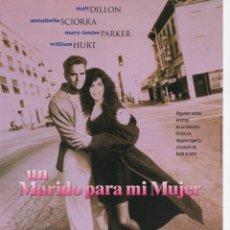 Cine: UN MARIDO PARA MI MUJER. Lote 186209517