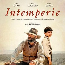 Cine: INTEMPERIE. Lote 186341761